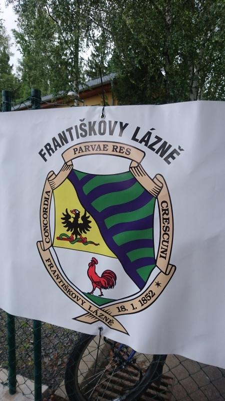 Znak Františkových lázní