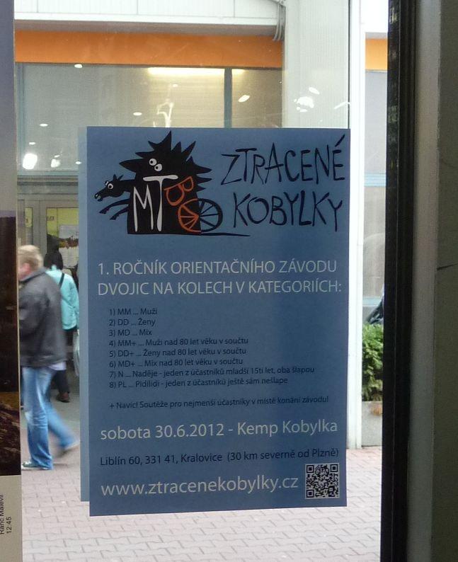 Plakát Kobylek na veletrhu FOR BIKES