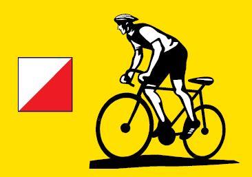 Plakát na MTBO Rybákův slídil 2012